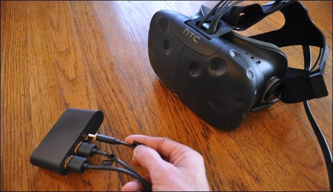 اتصال عینک واقعیت مجازی اچ تی سی وایو HTC vive به لینک باکس
