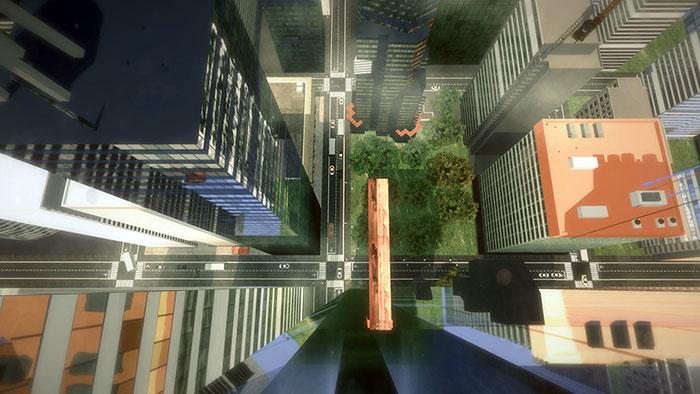بازی عینک واقعیت مجازی اچ تی سی وایو HTC vive ترس از ارتفاع Plank