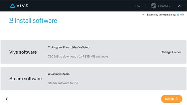 آموزش نصب عینک واقعیت مجازی اچ تی سی وایو HTC vive