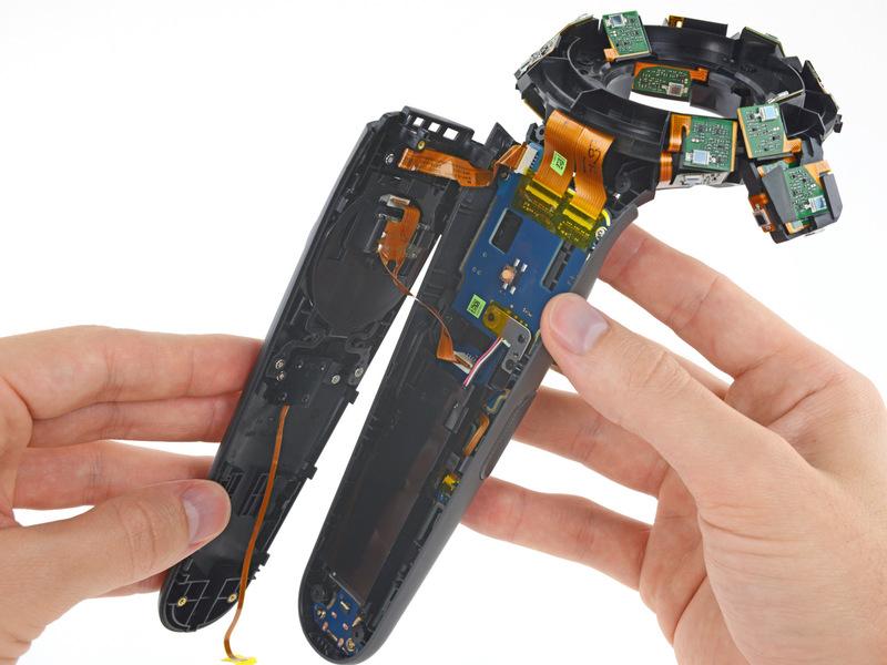 تعمیر کنترلر عینک واقعیت مجازی اچ تی سی وایو HTC vive 03