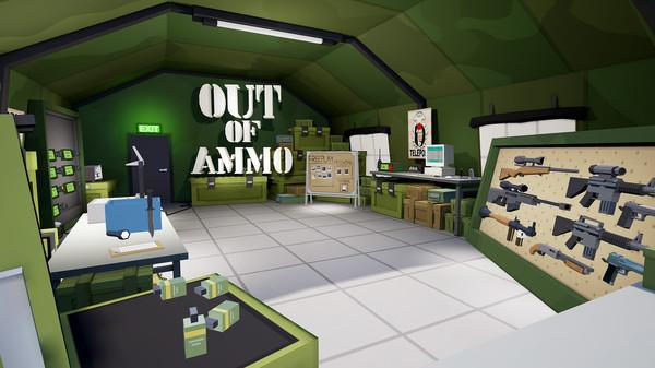 بازی استراتژیک واقعیت مجازی Out of Ammo