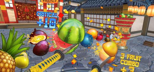 بازی واقعیت مجازی Fruit Ninja VR برای عینک htc vive