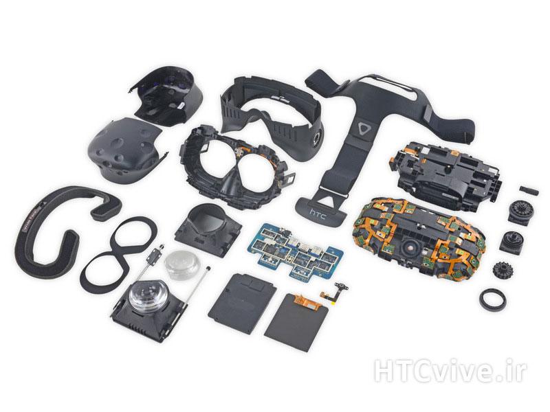 قطعات داخلی و تعمیرات عینک اچ تی سی وایو htc vive