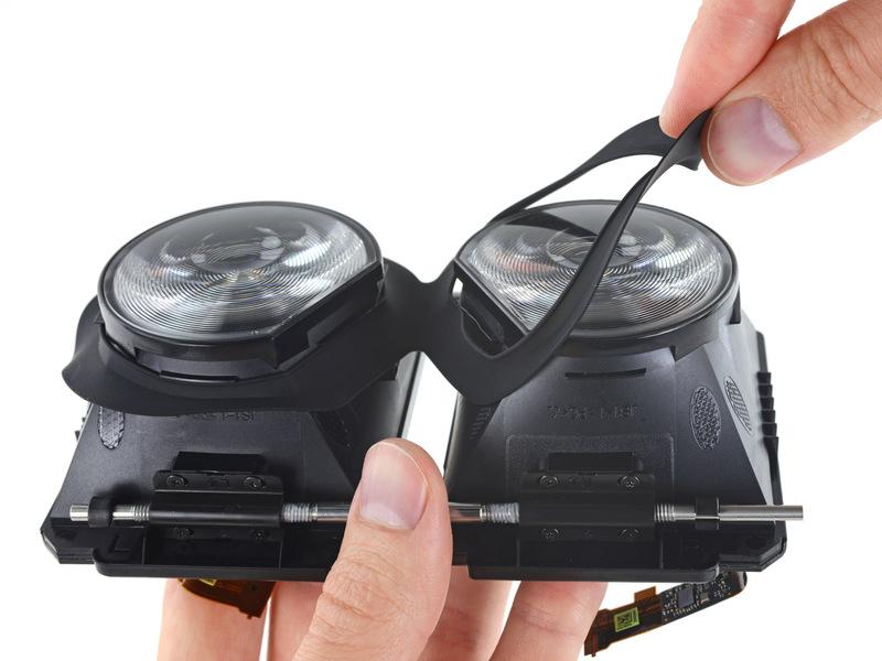 تعمیر عینک واقعیت مجازی اچ تی سی وایو HTC vive 11