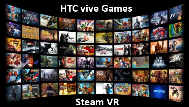 مجموعه بازی های اختصاصی هدست اچ تی سی وایو htc vive
