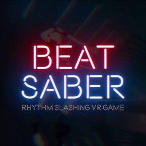 بازی Beat Saber برای عینک واقعیت مجازی HTC vive