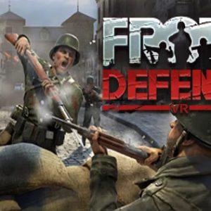 بازی Front Defense برای عینک واقعیت مجازی HTC vive