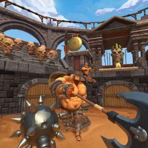 بازی GORN برای عینک واقعیت مجازی HTC vive