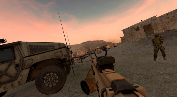 بازی انوارد Onward برای عینک واقعیت مجازی HTC vive2