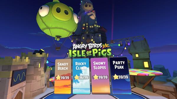 دانلود بازی Angry Birds VR: Isle of Pigs برای عینک واقعیت مجازی 5