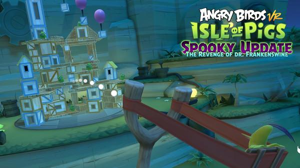 دانلود بازی Angry Birds VR: Isle of Pigs برای عینک واقعیت مجازی 6