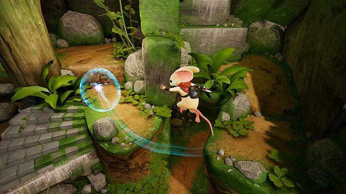 دانلود بازی Moss برای عینک واقعیت مجازی 2