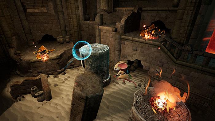 دانلود بازی Moss برای عینک واقعیت مجازی 5