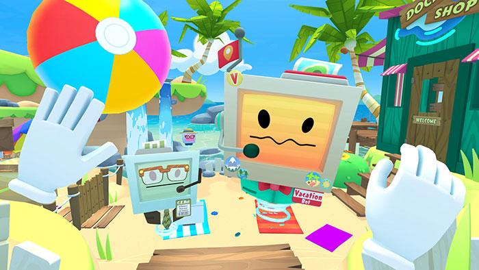 دانلود بازی Vacation Simulator برای عینک واقعیت مجازی 2