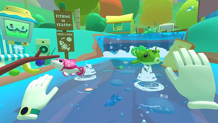 دانلود بازی Vacation Simulator برای عینک واقعیت مجازی 10