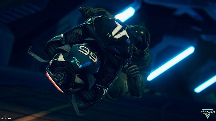 دانلود بازی V-Racer Hoverbike برای عینک واقعیت مجازی 5