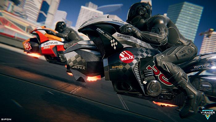 دانلود بازی V-Racer Hoverbike برای عینک واقعیت مجازی 6