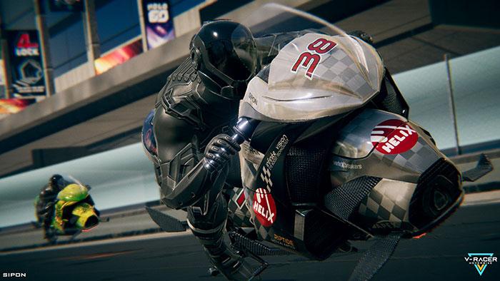 دانلود بازی V-Racer Hoverbike برای عینک واقعیت مجازی 7