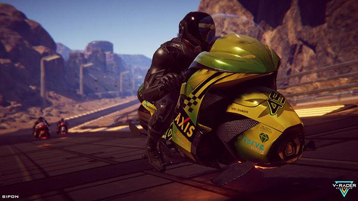دانلود بازی V-Racer Hoverbike برای عینک واقعیت مجازی 8