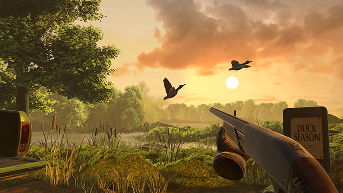 دانلود بازی Duck Season برای عینک واقعیت مجازی 2