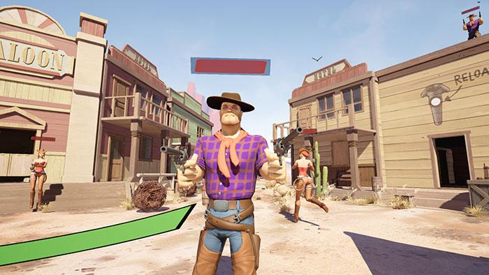دانلود بازی High Noon VR برای عینک واقعیت مجازی 2