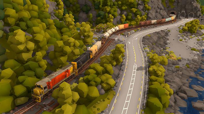 دانلود بازی Rolling Line برای عینک واقعیت مجازی 6