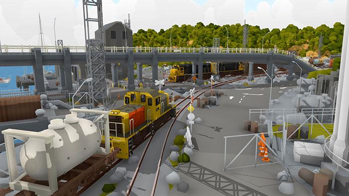 دانلود بازی Rolling Line برای عینک واقعیت مجازی 7