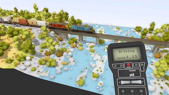 دانلود بازی Rolling Line برای عینک واقعیت مجازی 8