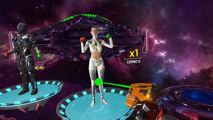 دانلود بازی Rhythm Defender برای عینک واقعیت مجازی3