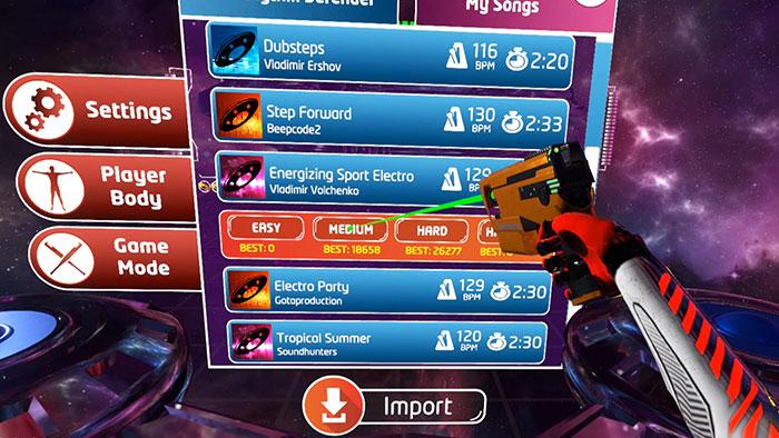 دانلود بازی Rhythm Defender برای عینک واقعیت مجازی4