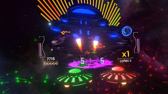 دانلود بازی Rhythm Defender برای عینک واقعیت مجازی 5