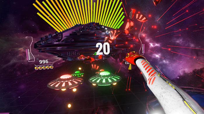 دانلود بازی Rhythm Defender برای عینک واقعیت مجازی7