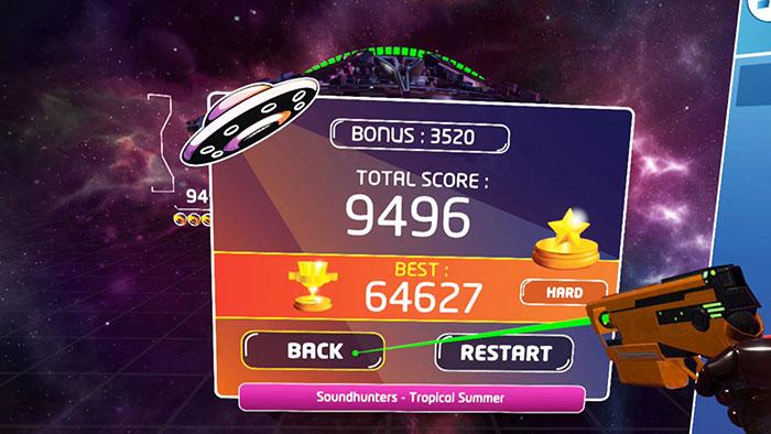 دانلود بازی Rhythm Defender برای عینک واقعیت مجازی8