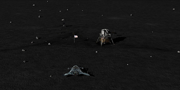 دانلود بازی Discovering Space 2 برای عینک واقعیت مجازی 4
