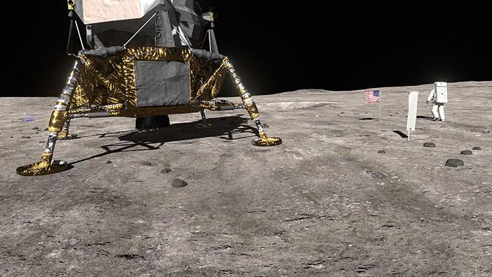دانلود بازی Apollo 11 VR HD برای عینک واقعیت مجازی 5