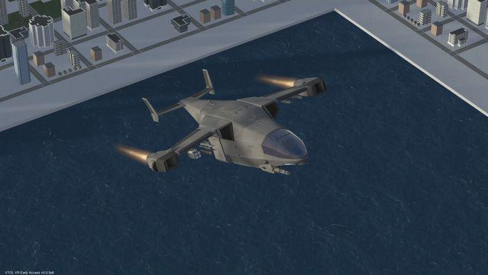 دانلود بازی VTOL VR برای عینک واقعیت مجازی 2