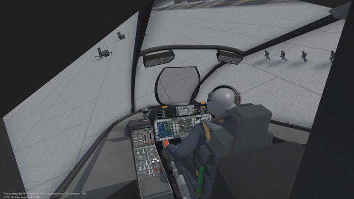 دانلود بازی VTOL VR برای عینک واقعیت مجازی 4