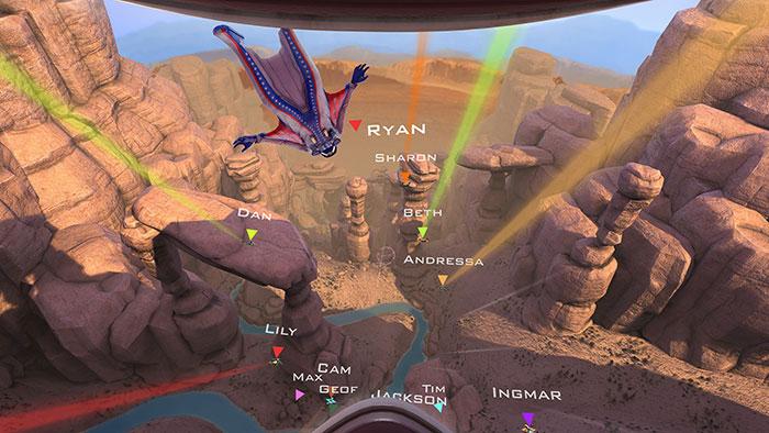 دانلود بازی RUSH برای عینک واقعیت مجازی 2
