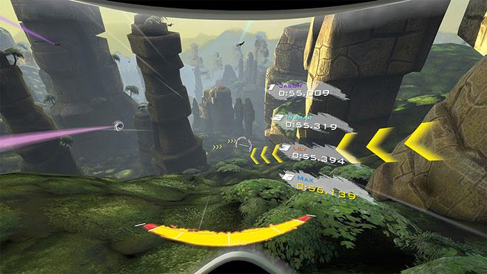 دانلود بازی RUSH برای عینک واقعیت مجازی 3