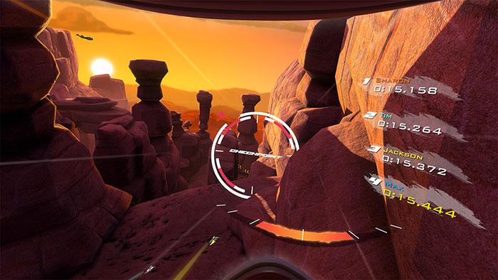 دانلود بازی RUSH برای عینک واقعیت مجازی 4