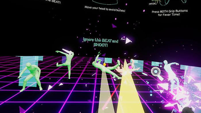 تصویر دانلود بازی Gun Beat برای عینک واقعیت مجازی 2